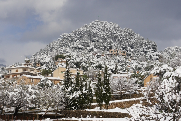 Mallorca is waiting for snow